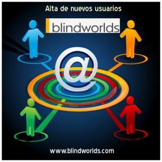 Altas de nuevos usuarios en la red social blindwolds