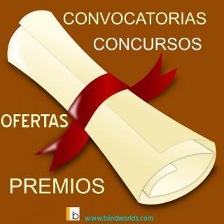 Un diploma ilustra el contenido: convocatorias, concursos, ofertas y premios