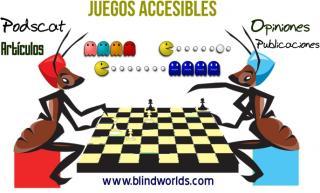 Dos hormigas (una roja y otra azul) se enfrentan a una partida de ajedrez