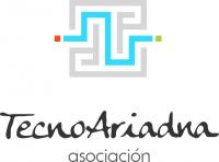 Logo de Asociación TecnoAriadna (un laberinto con entrada y salida)